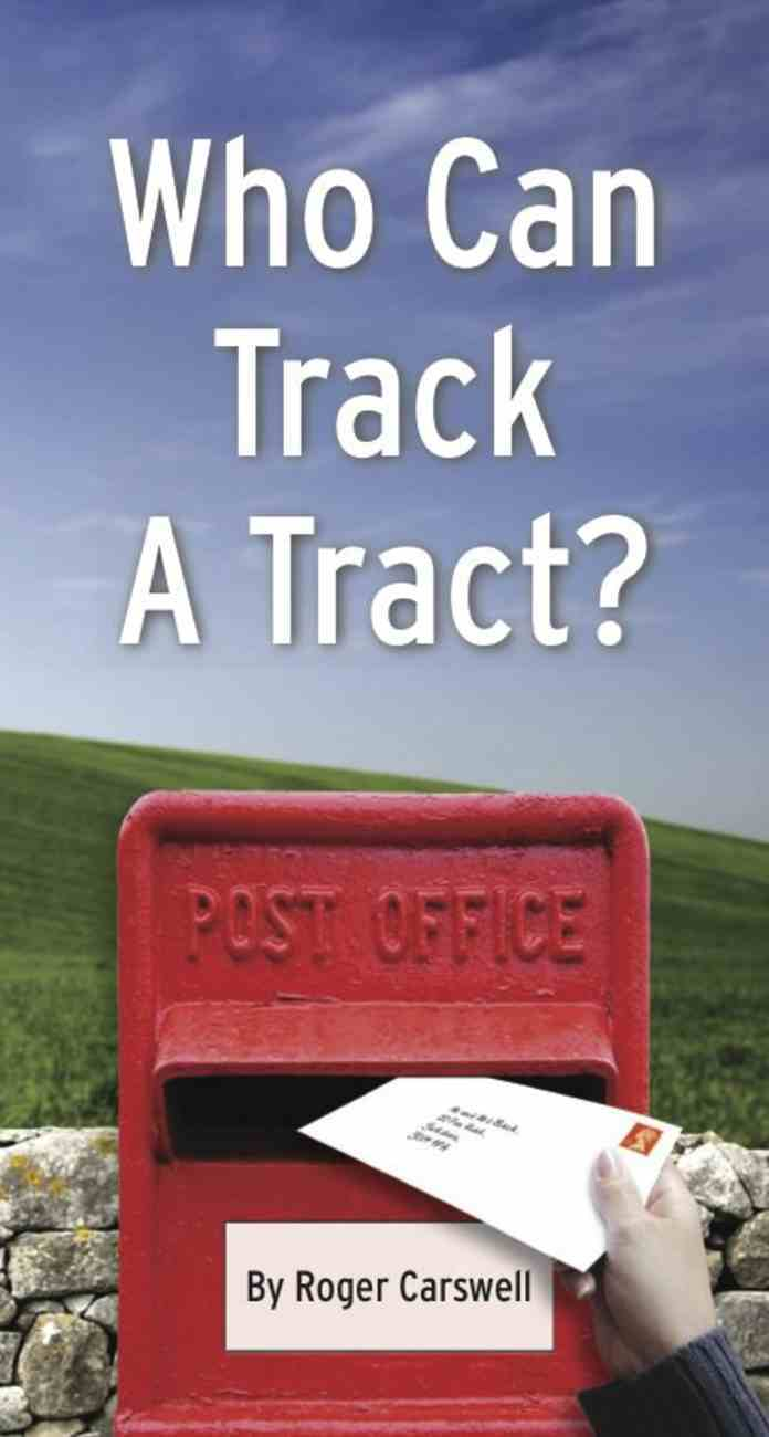 Who Can Track a Tract? Booklet