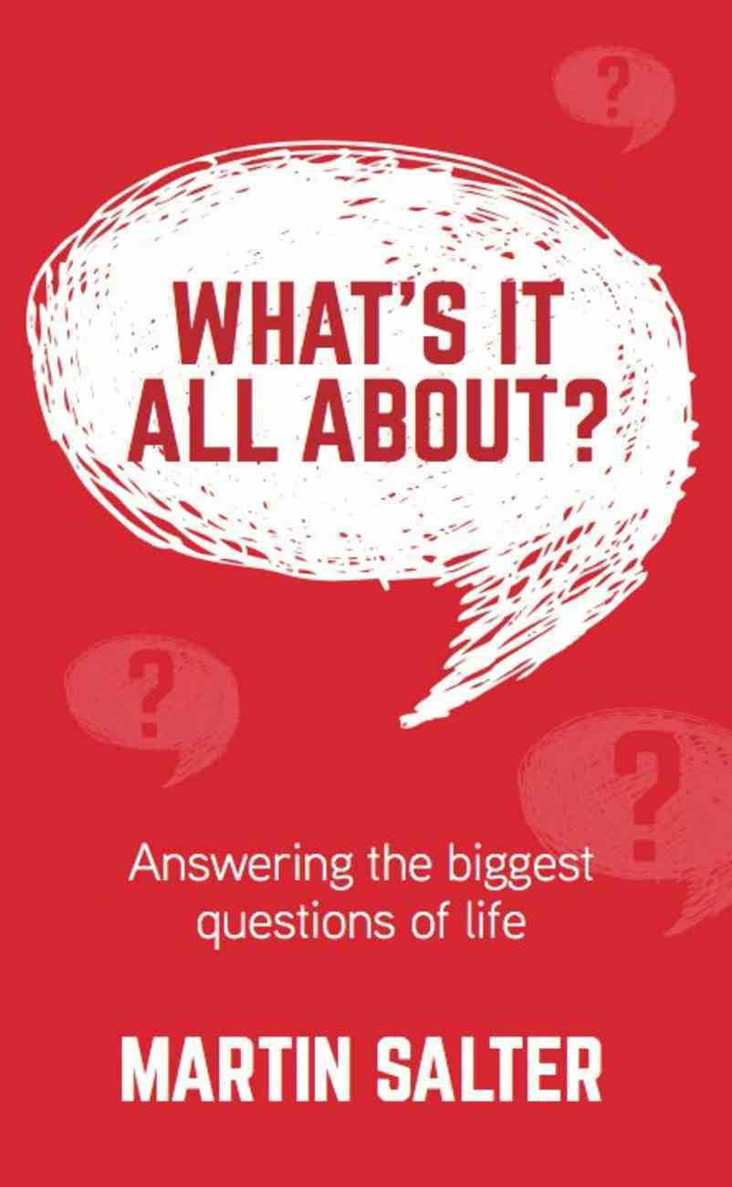 What's It All About? Booklet