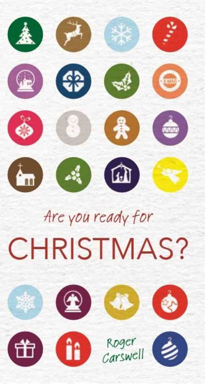 Are You Ready For Christmas? Booklet