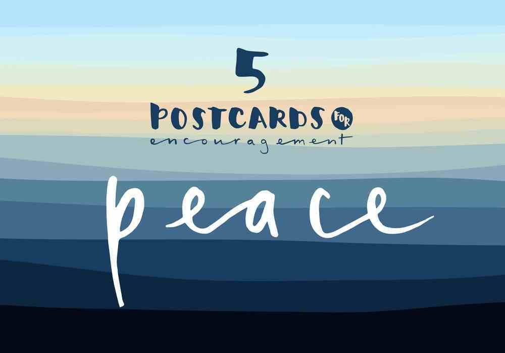 Postcards of Peace (Pack Of 5 A6) Pack