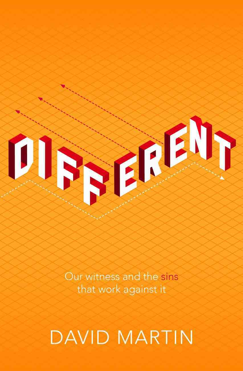 Different: Our Witness and the Sins That Work Against It Paperback