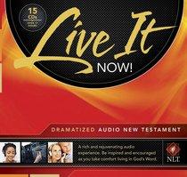 Album Image for NLT Live It Now! New Testament Dramatized Audio Bible (15 Cds) - DISC 1