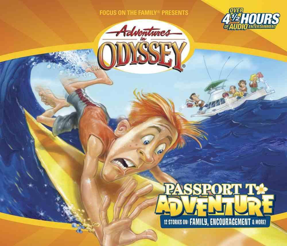 Passport to Adventure (Pilgrim's Progress) (#19 in Adventures In Odyssey Audio Series) CD
