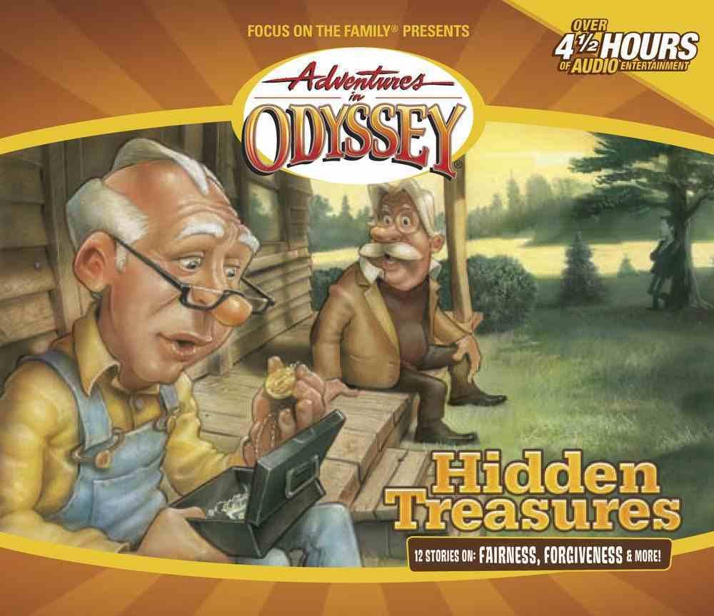 Hidden Treasures (#32 in Adventures In Odyssey Audio Series) CD