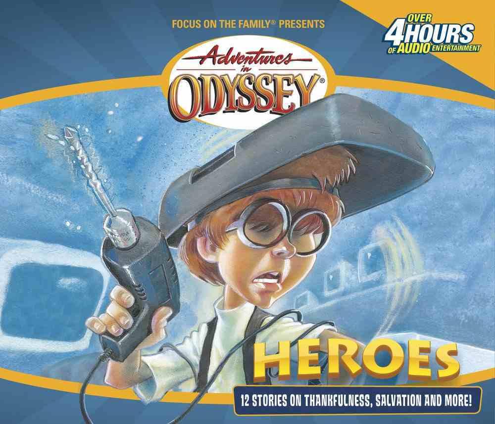 Heroes (#03 in Adventures In Odyssey Gold Audio Series) CD