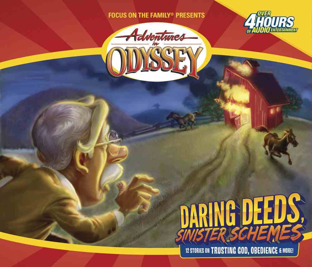 Daring Deeds and Sinister Schemes (#05 in Adventures In Odyssey Gold Audio Series) CD
