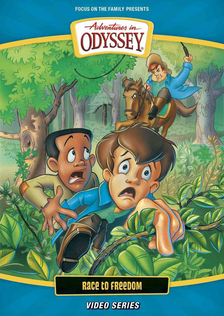 Race to Freedom (#04 in Adventures In Odyssey New Visual Series) DVD