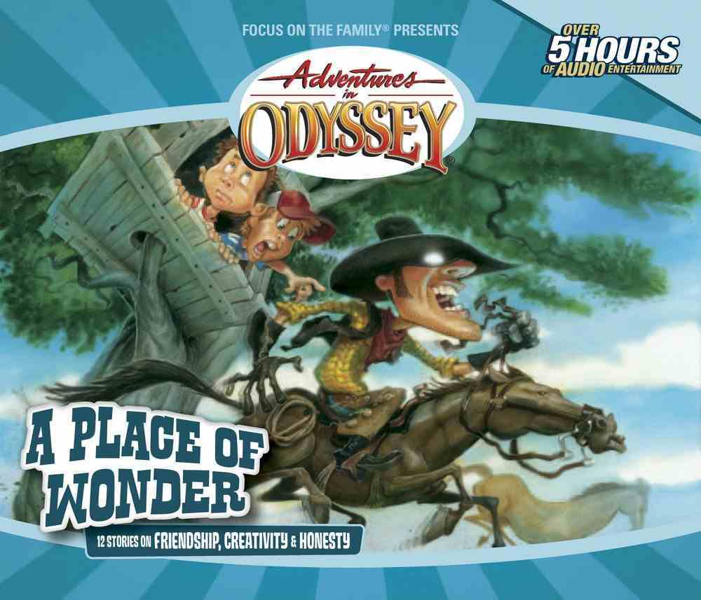 A Place of Wonder (#15 in Adventures In Odyssey Gold Audio Series) CD