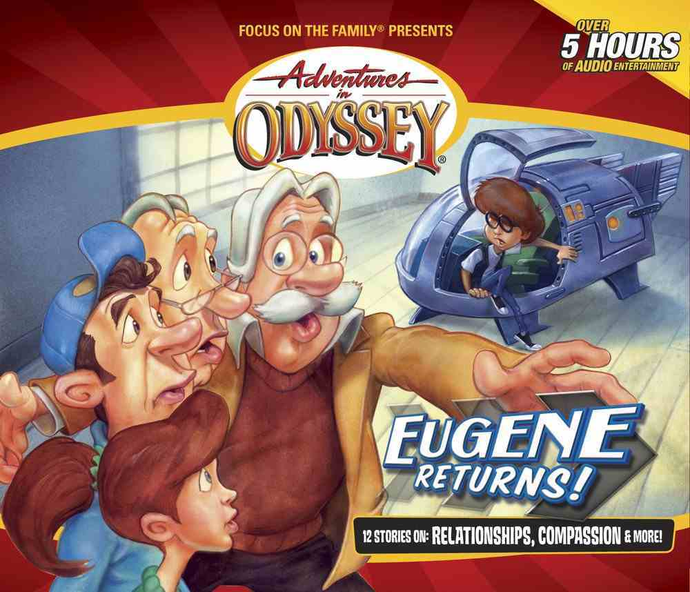 Eugene Returns! (Episodes 1-12) (#44 in Adventures In Odyssey Audio Series) CD