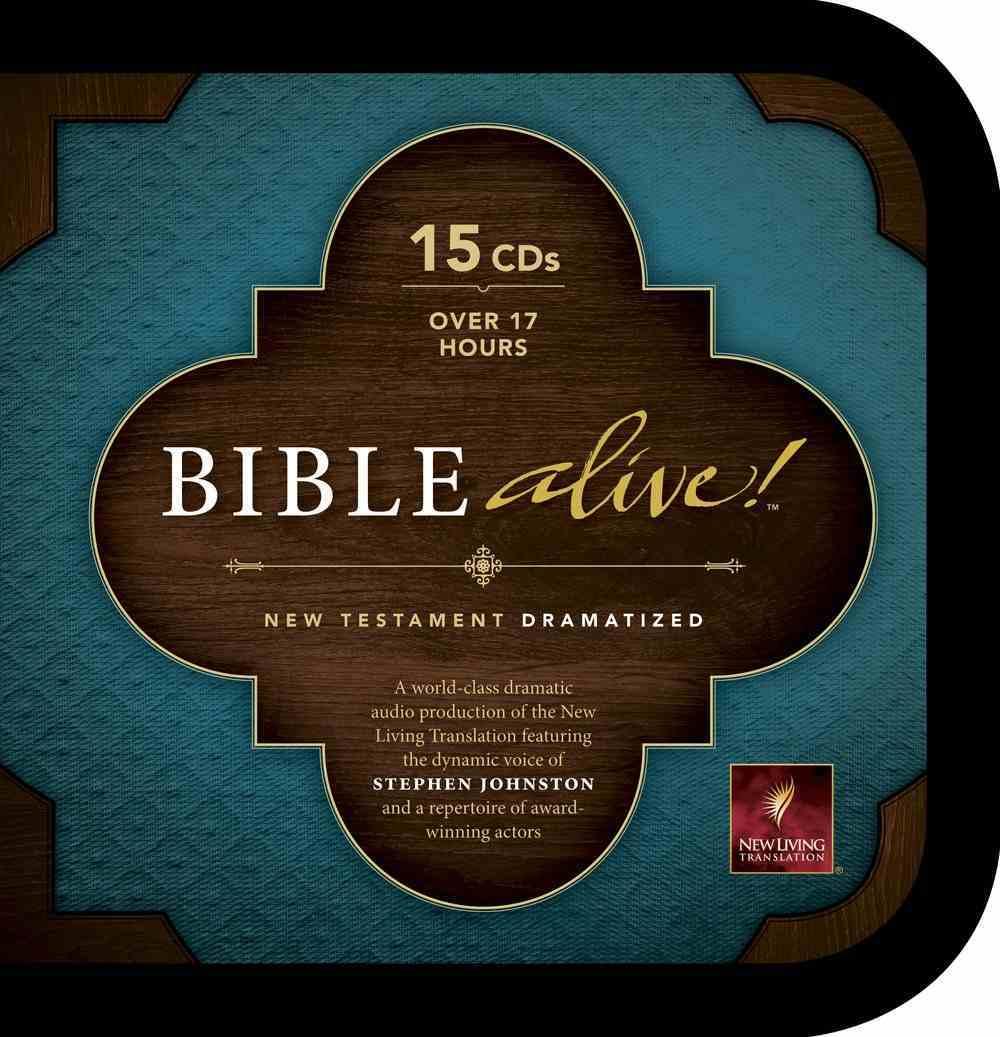 NLT Bible Alive! New Testament (15 Cds) CD