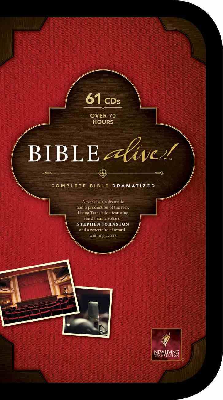 NLT Bible Alive! (61 Cds) CD