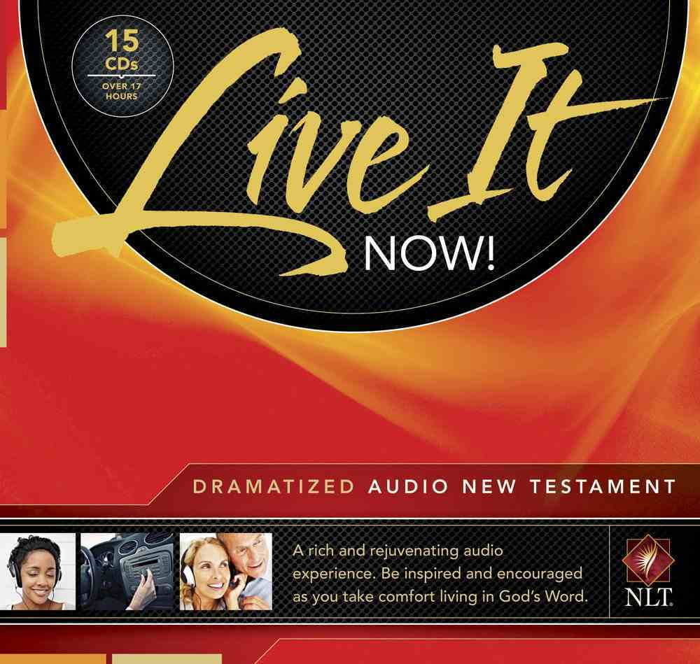 NLT Live It Now! New Testament Dramatized Audio Bible (15 Cds) CD
