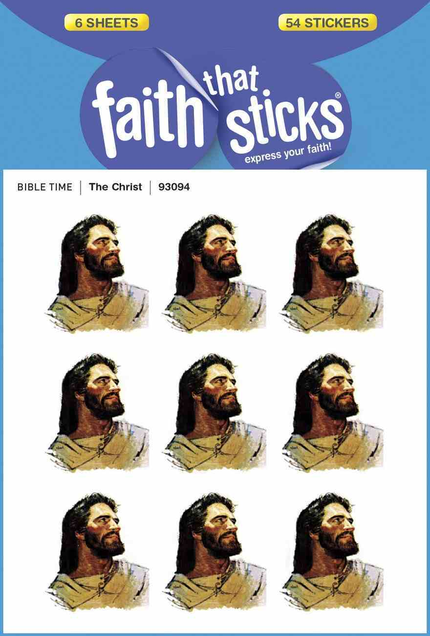 The Christ (6 Sheets, 54 Stickers) (Stickers Faith That Sticks Series) Stickers