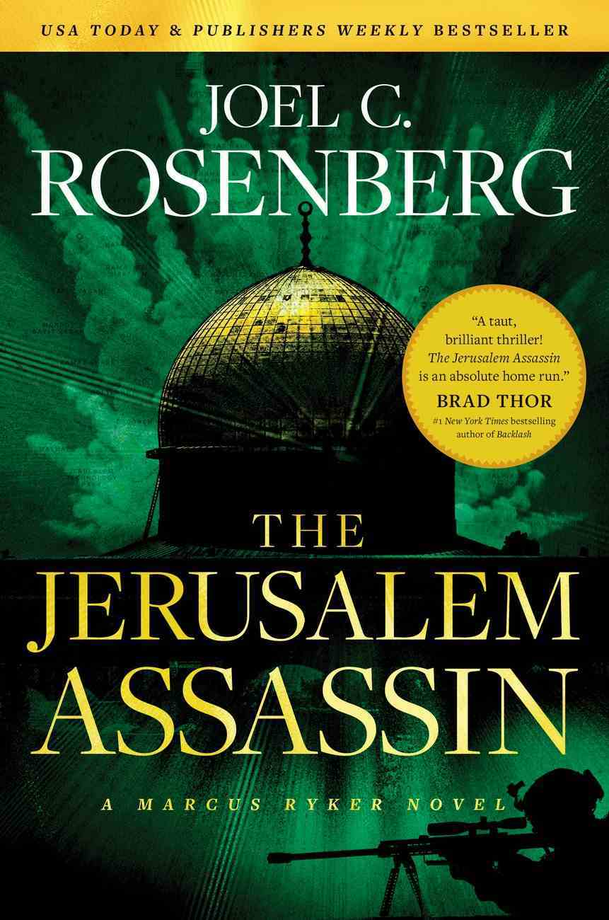 The Jerusalem Assassin  (#03 in Marcus Ryker Series) Hardback