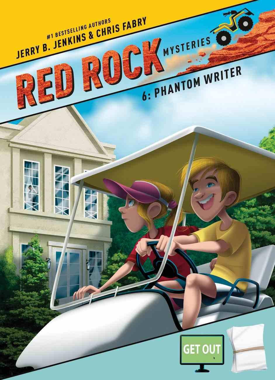 Phantom Writer (#06 in Red Rock Mysteries Series) Paperback