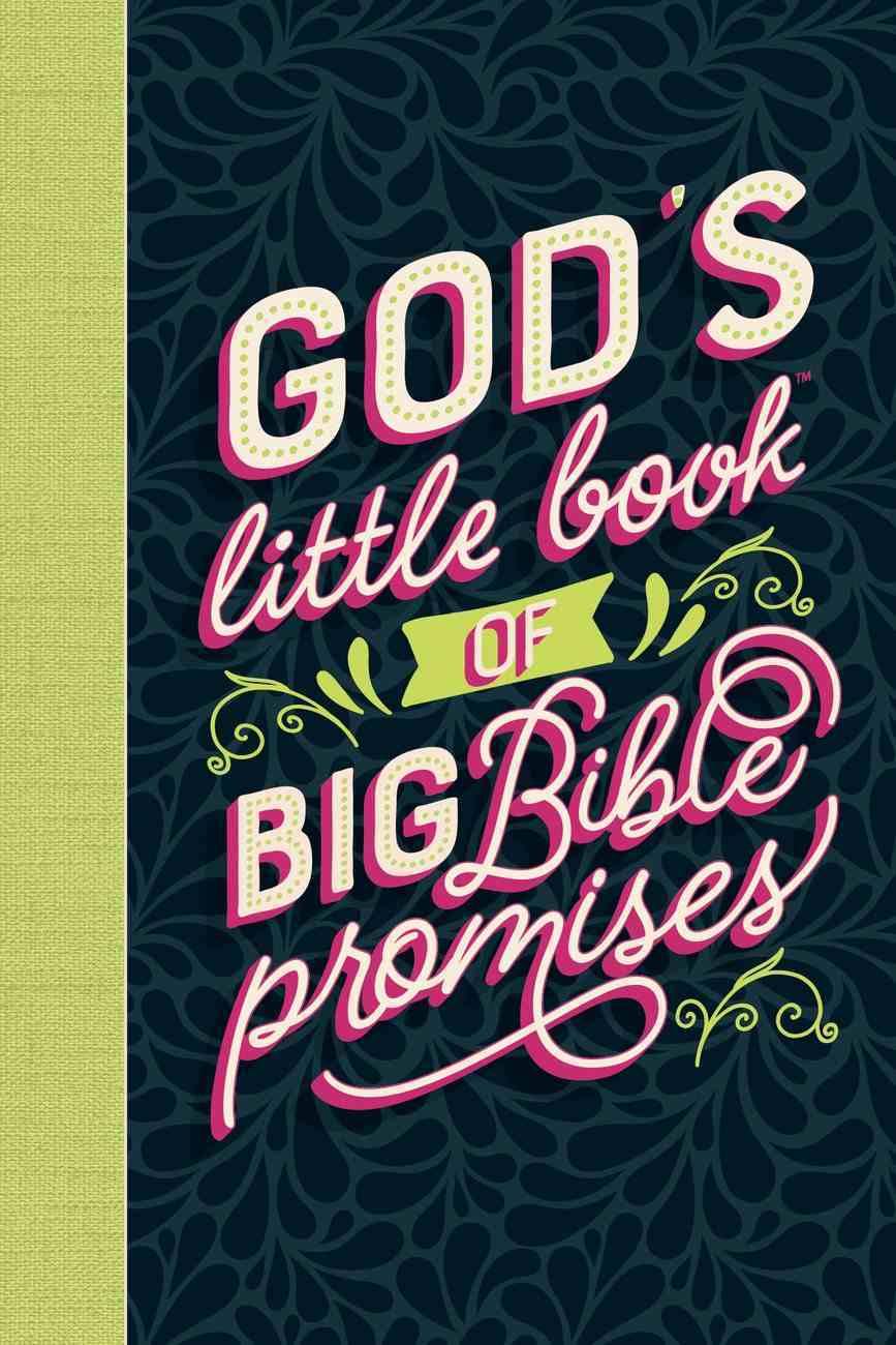 God's Little Book of Big Bible Promises Hardback
