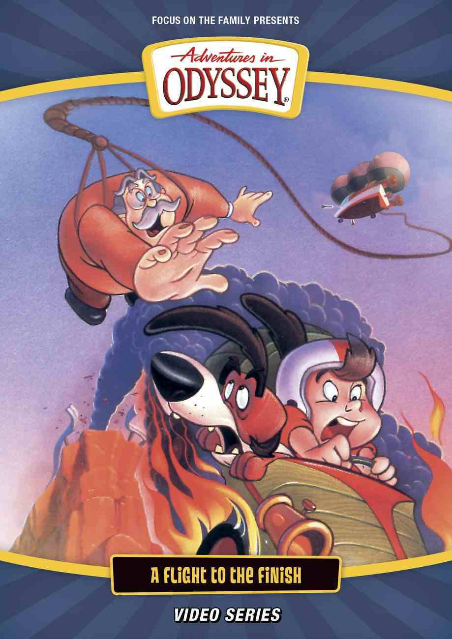 A Flight to the Finish (#02 in Adventures In Odyssey Visual Series) DVD