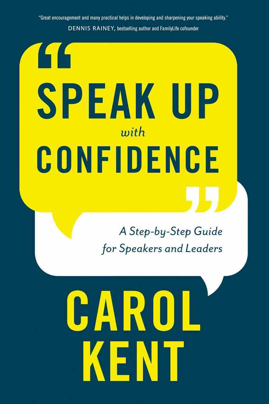 Speak Up With Confidence Paperback