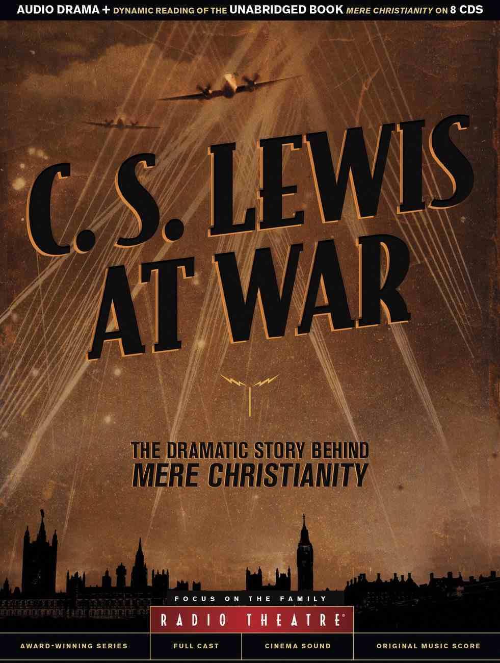 C. S. Lewis At War (Unabridged, 8 Cds) CD