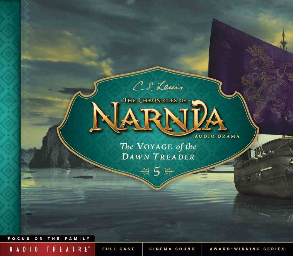 The Voyage of the Dawn Treader (Unabridged) (#05 in Chronicles Of Narnia Audio Series) CD