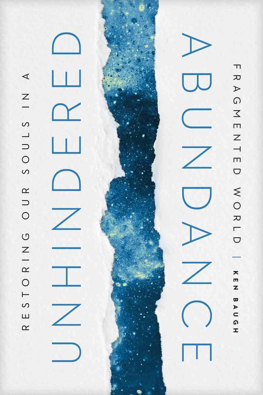 Unhindered Abundance: Restoring Our Souls in a Fragmented World Hardback