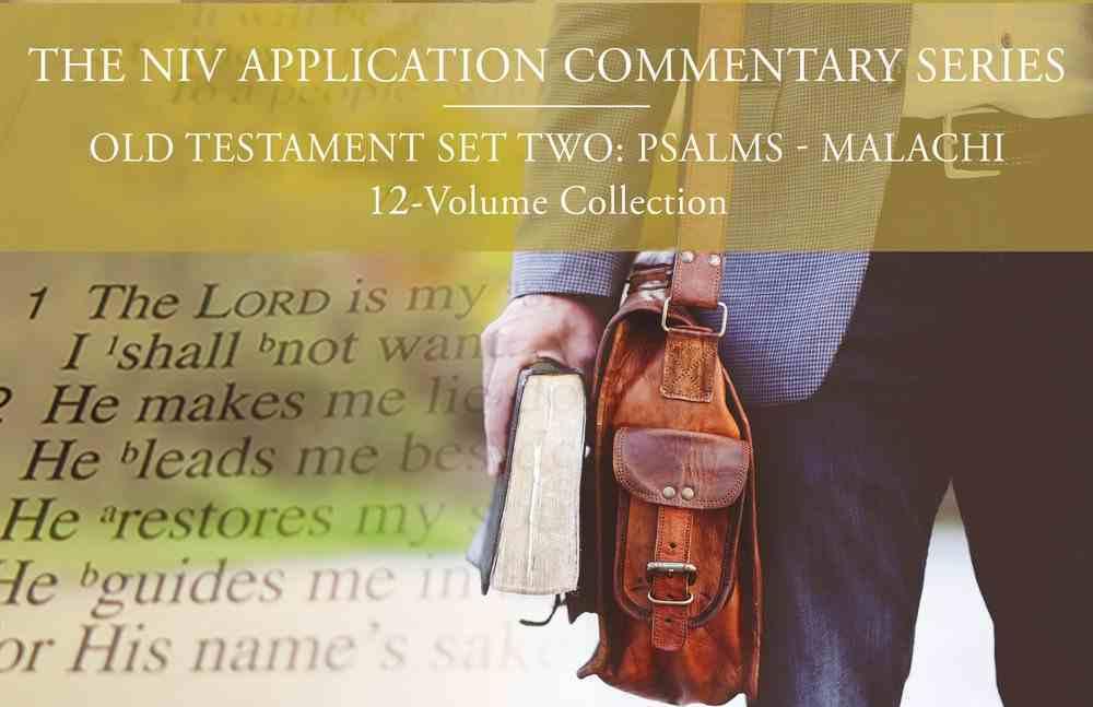 NIV Application Commentary, Old Testament Set Two: Psalms-Malachi (12 Vols) Hardback