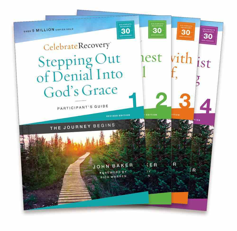 Celebrate Recovery Participant's Guide (Volume 1-4, 2021) (Celebrate Recovery Series) Pack