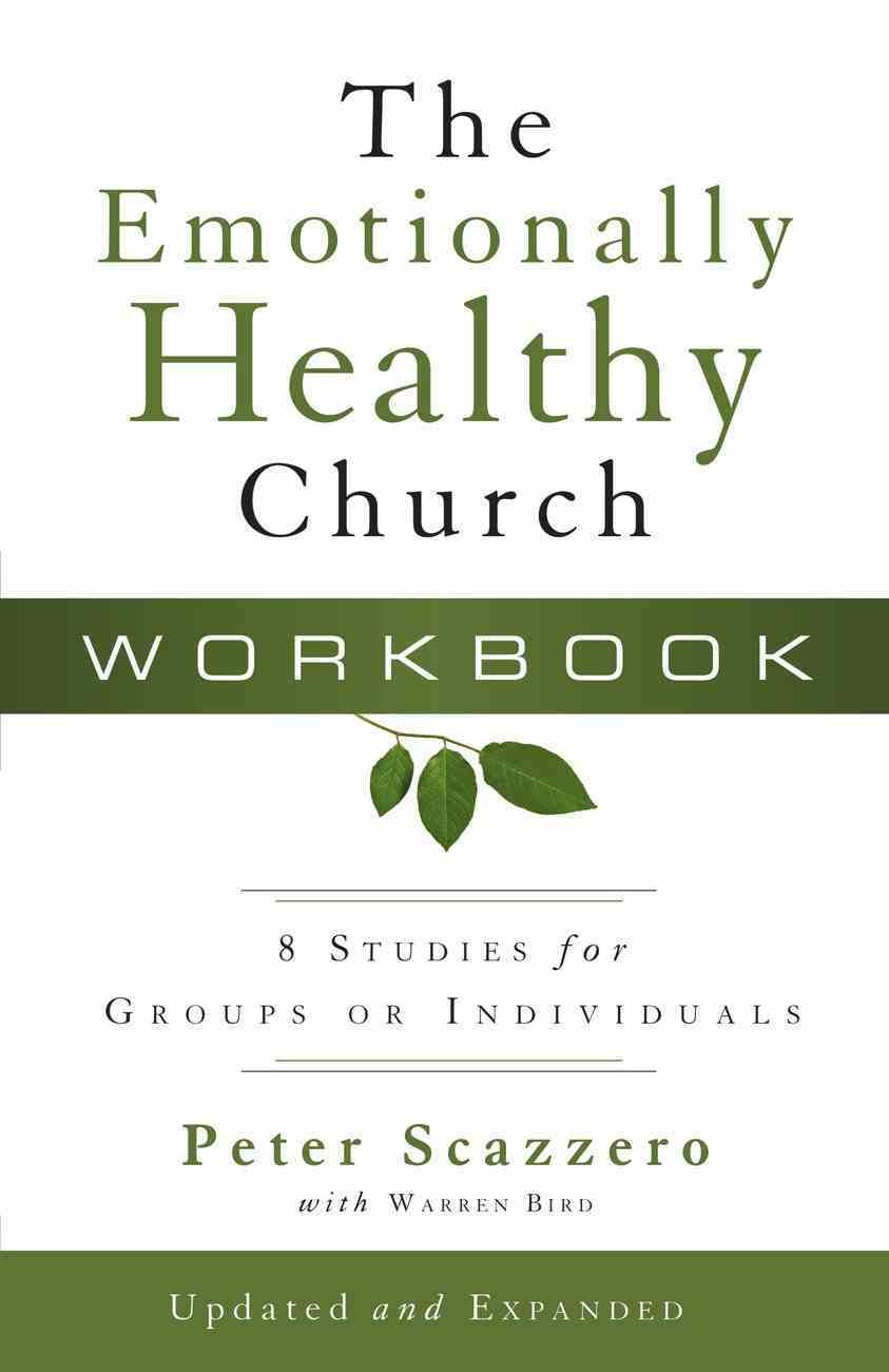 The Emotionally Healthy Church (Workbook) Paperback