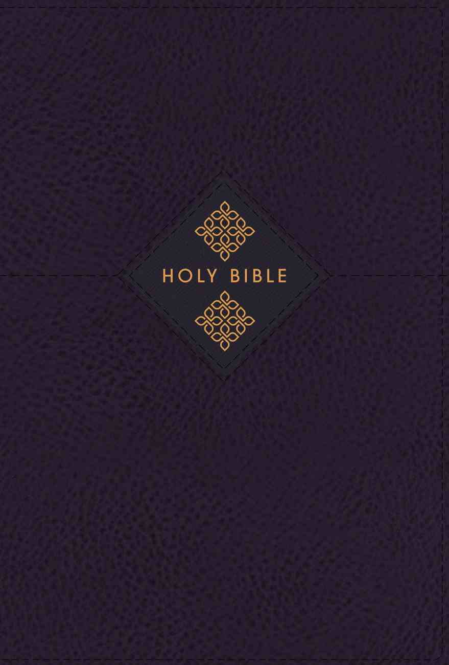 NIV Grace and Truth Study Bible Navy Thumb Indexed (Red Letter Edition) Premium Imitation Leather