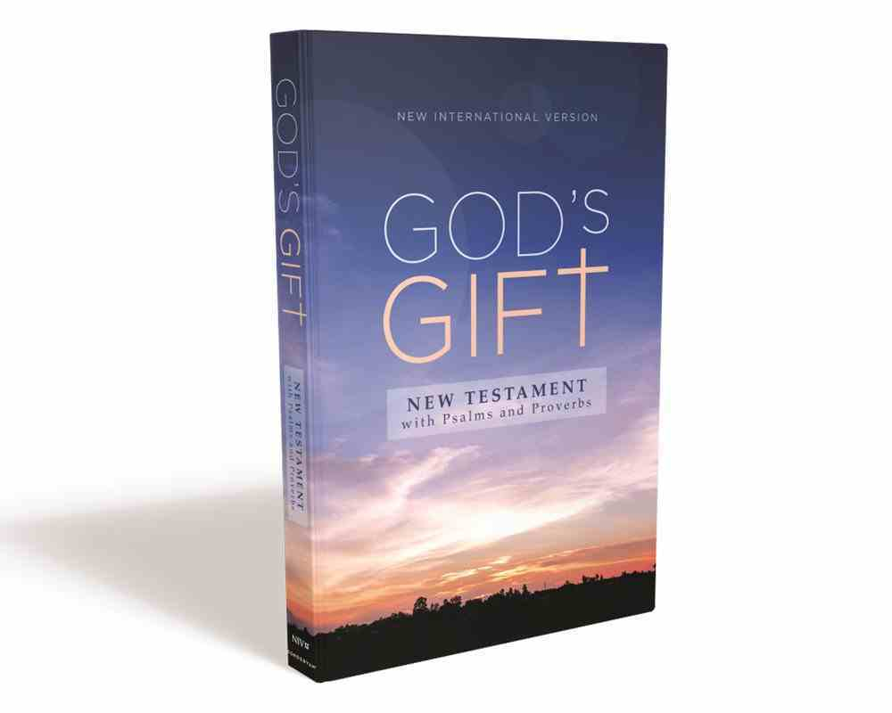 NIV God's Gift New Testament With Psalms and Proverbs Pocket-Sized Paperback