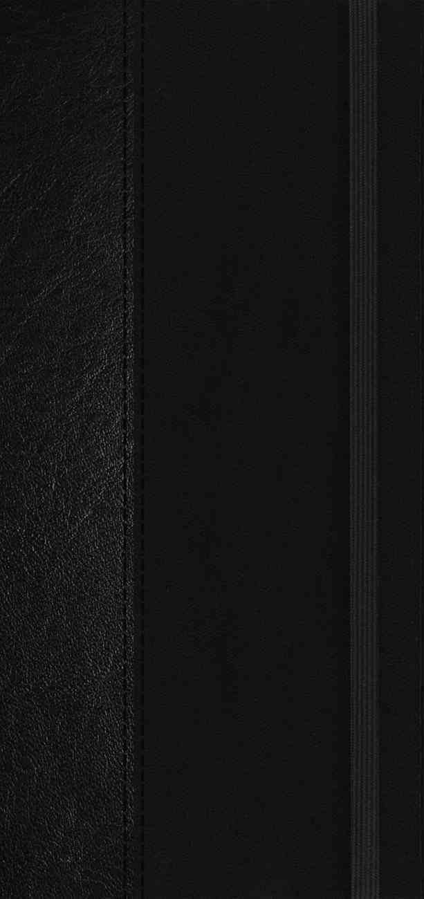 NIV Journal the Word New Testament Pocket Bible Edition Black Elastic Closure (Red Letter Edition) Hardback