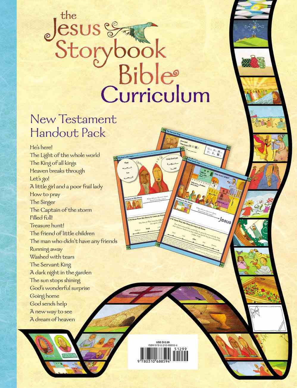 Jesus Storybook Bible, the New Testament (Curriculum Kit Handouts) Pack