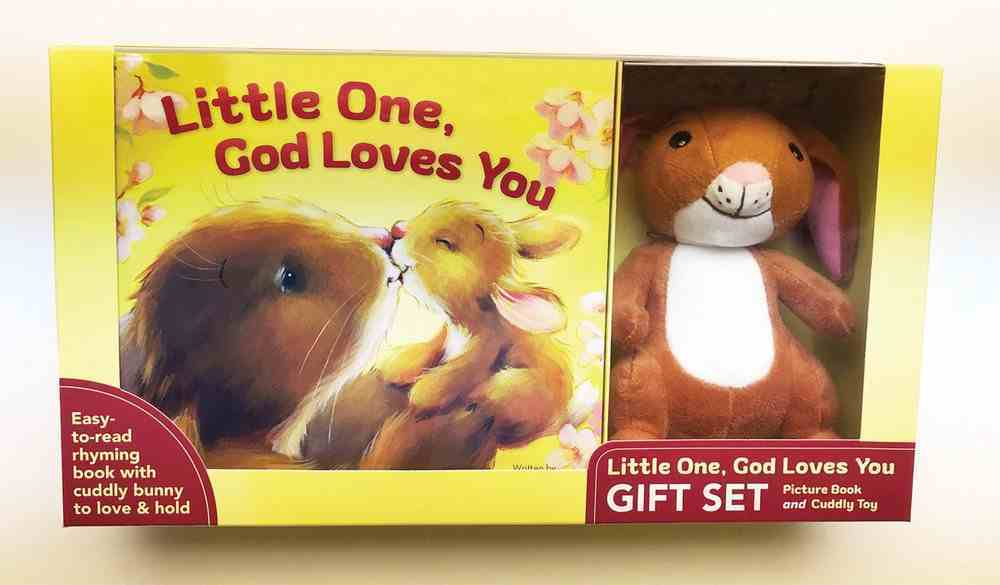 Little One, God Loves You Gift Set (Board Book And Plush Toy) Pack