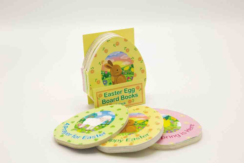 Easter Egg Board Books Includes a Prayer For Easter, Happy Easter, and Spring is Here (3 Pack) Board Book