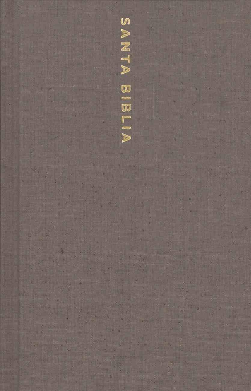 Nbla Santa Biblia Letra Grande Tamao Compacto Gris (Red Letter Edition) Hardback