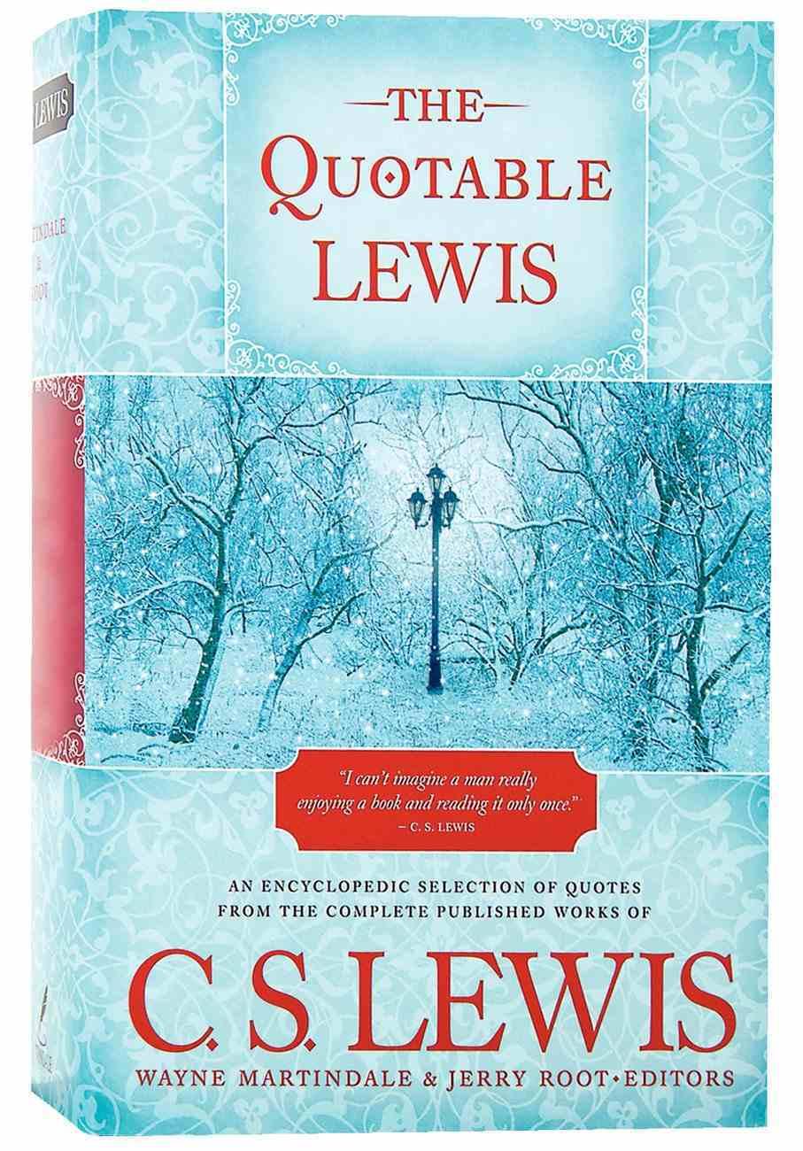 The Quotable Lewis Hardback