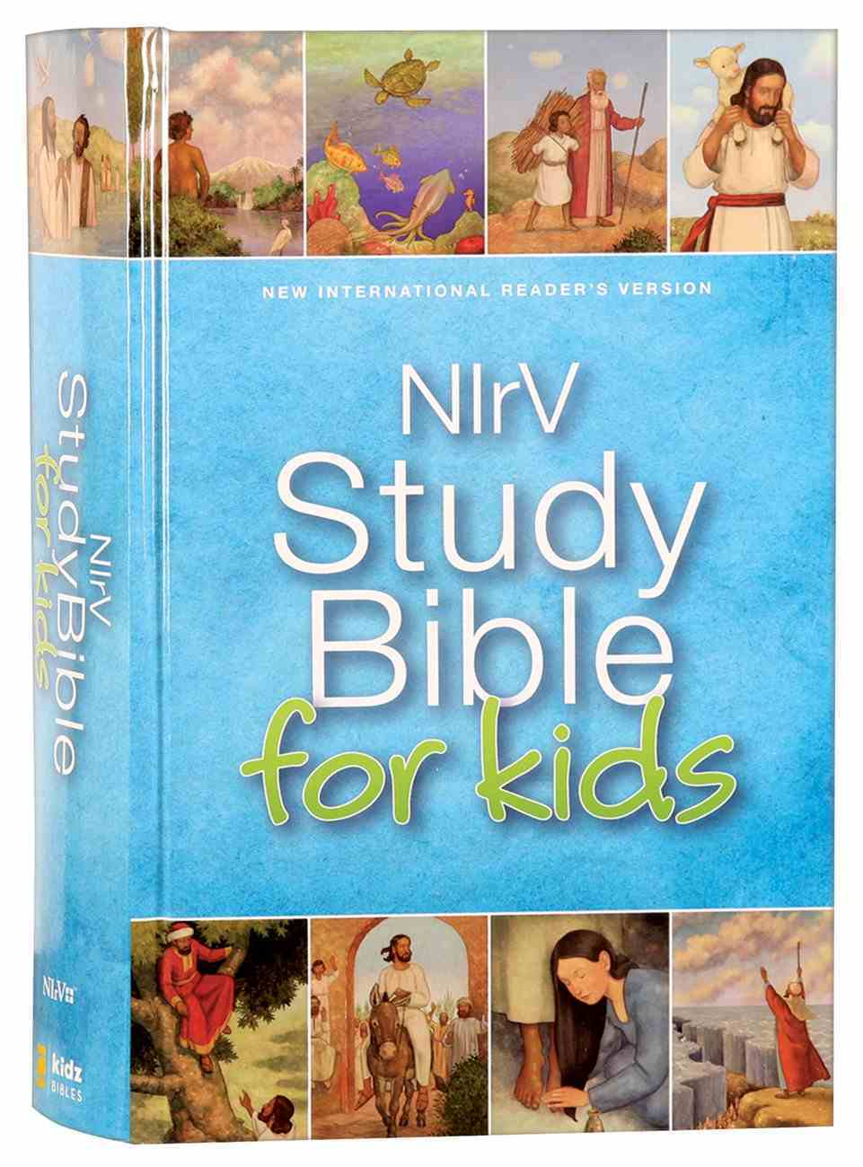 NIRV Study Bible For Kids (Black Letter Edition) Hardback