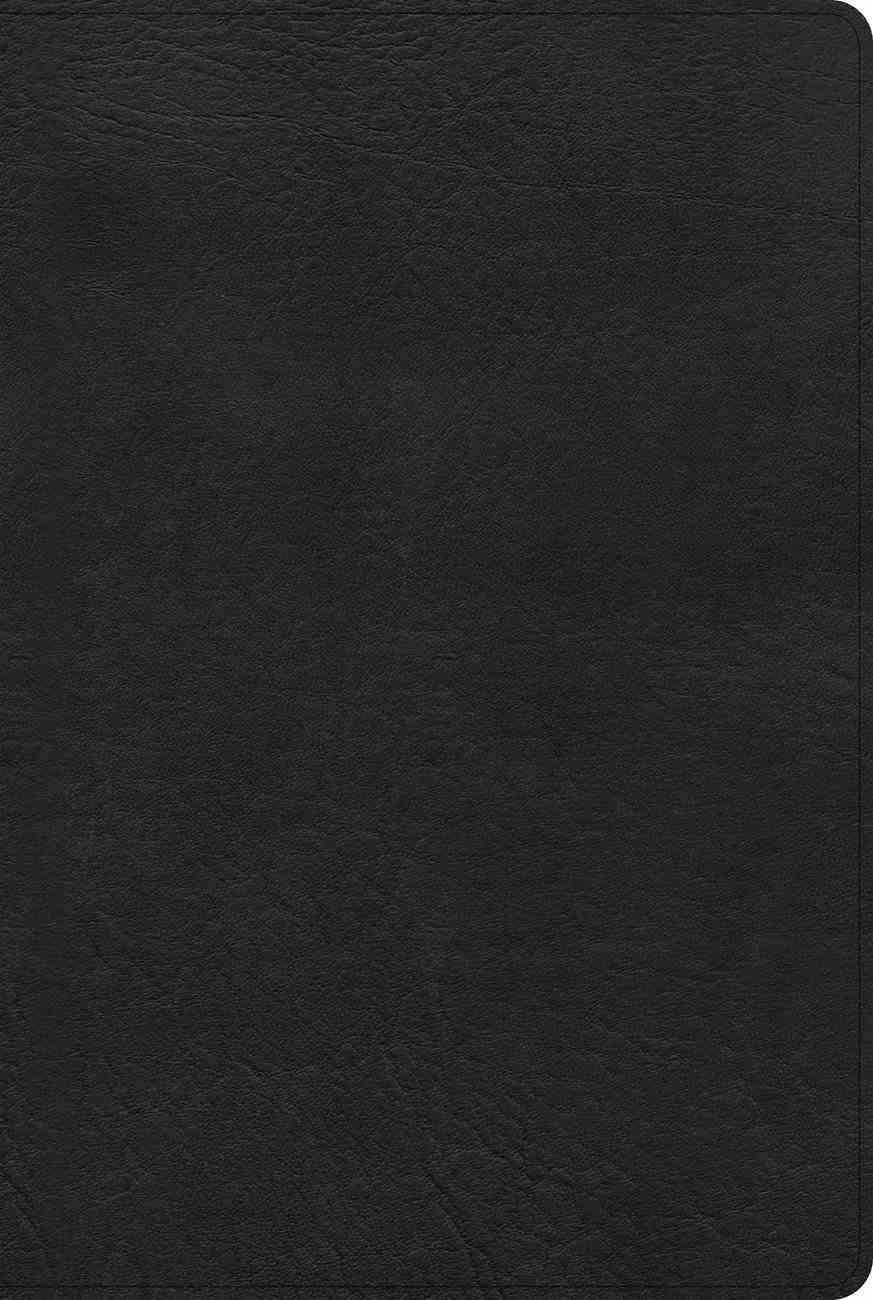 KJV Pastor's Bible Black Deluxe (Black Letter Edition) Imitation Leather