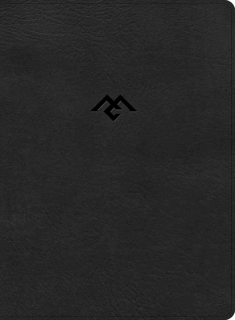 CSB Men of Character Bible Black Indexed (Black Letter Edition) Imitation Leather