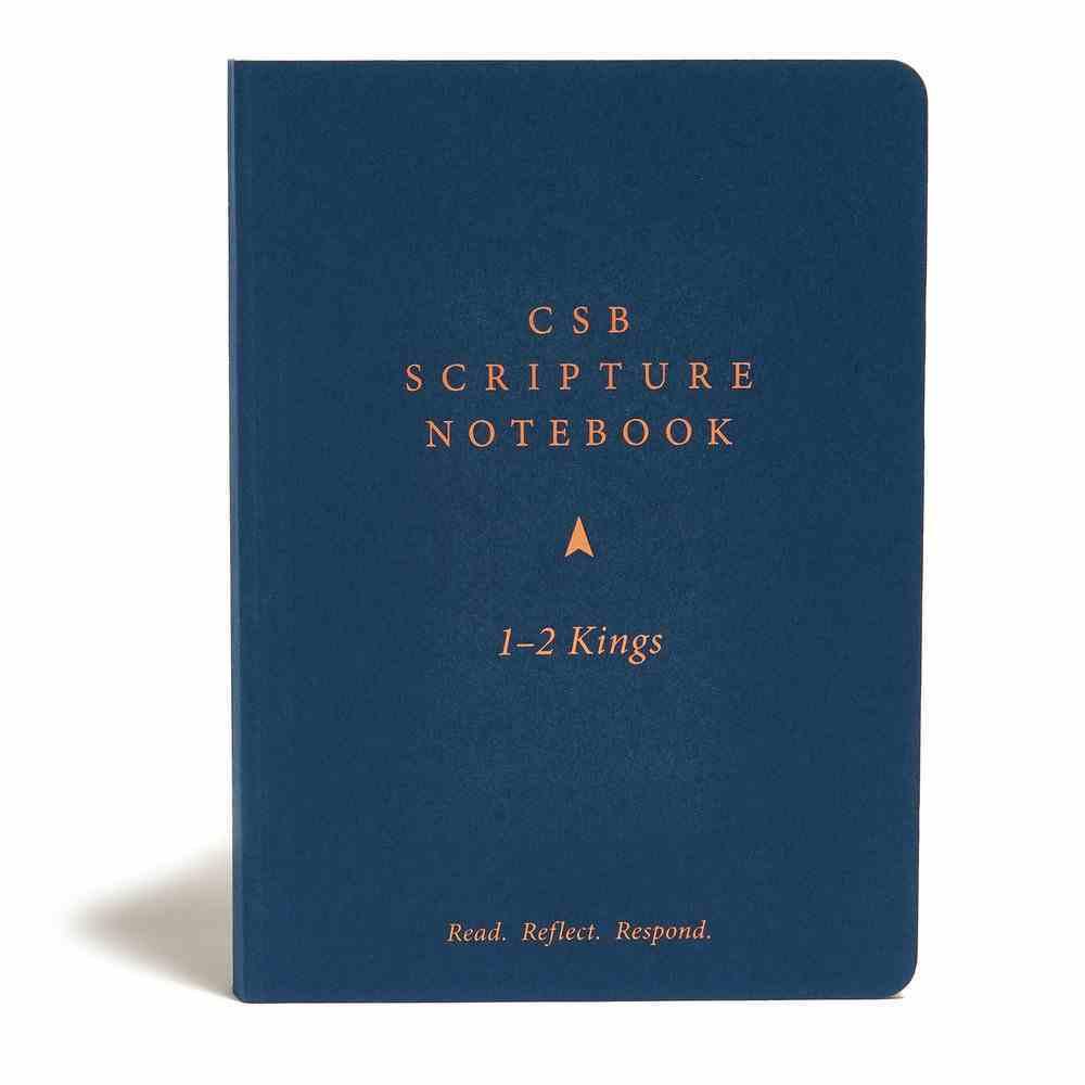 CSB Scripture Notebook 1-2 Kings Paperback