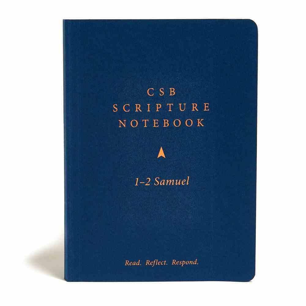 CSB Scripture Notebook 1-2 Samuel Paperback