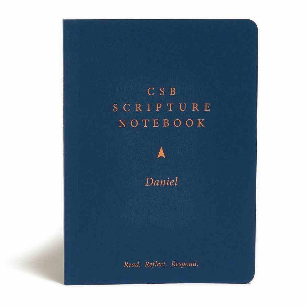 CSB Scripture Notebook Daniel Paperback