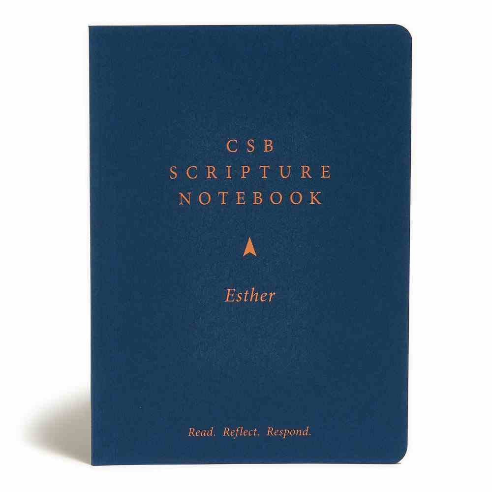CSB Scripture Notebook Esther Paperback