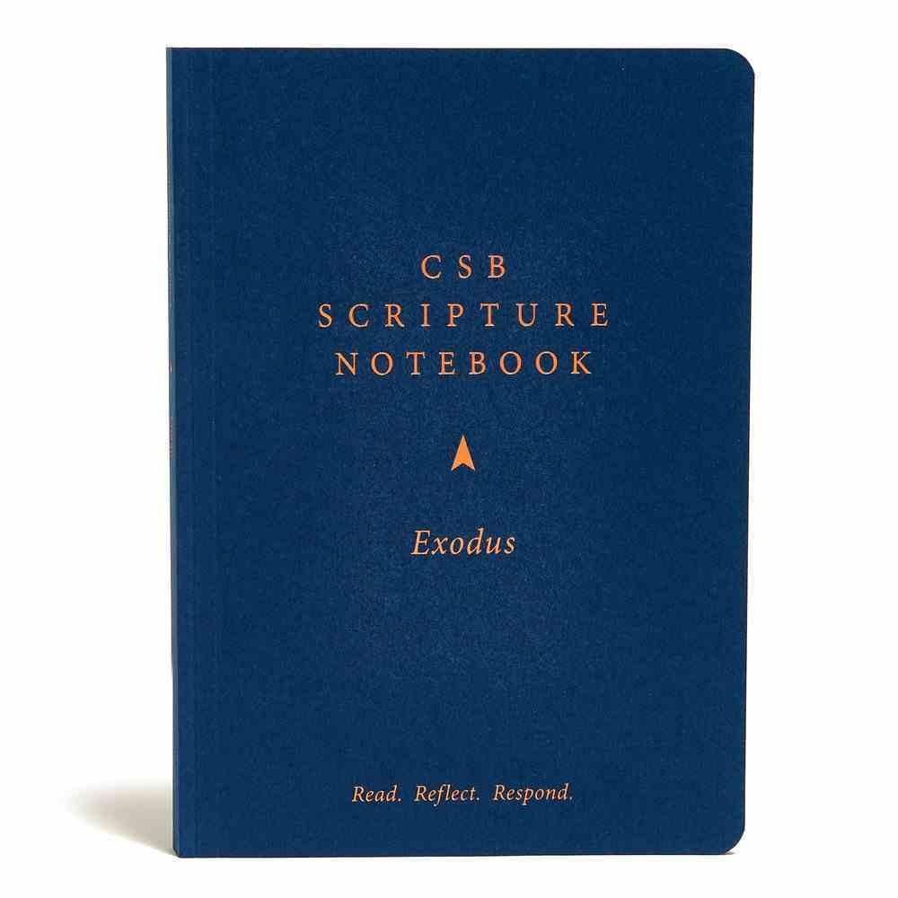 CSB Scripture Notebook Exodus Paperback