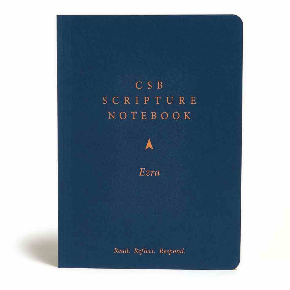 CSB Scripture Notebook Ezra Paperback