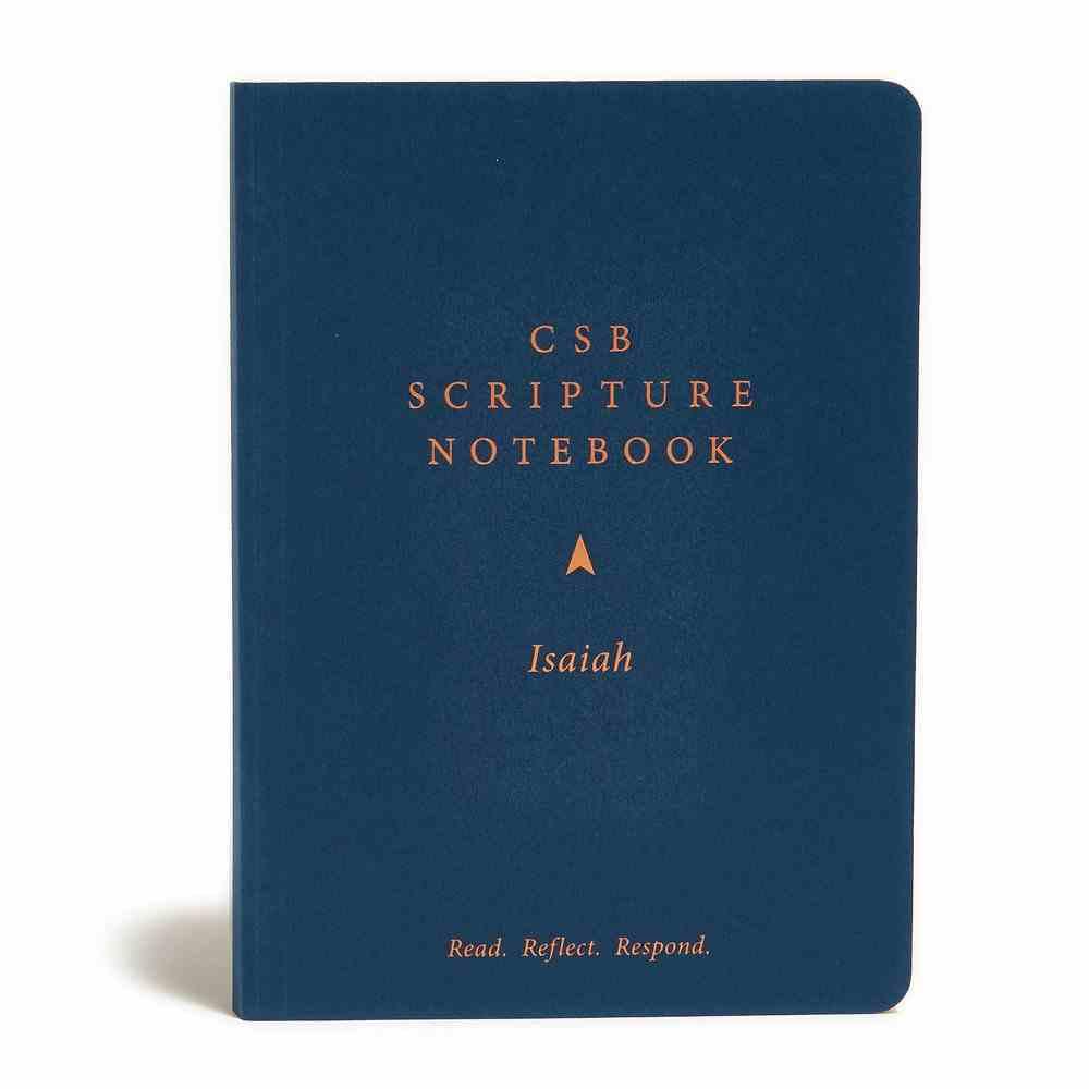 CSB Scripture Notebook Isaiah Paperback
