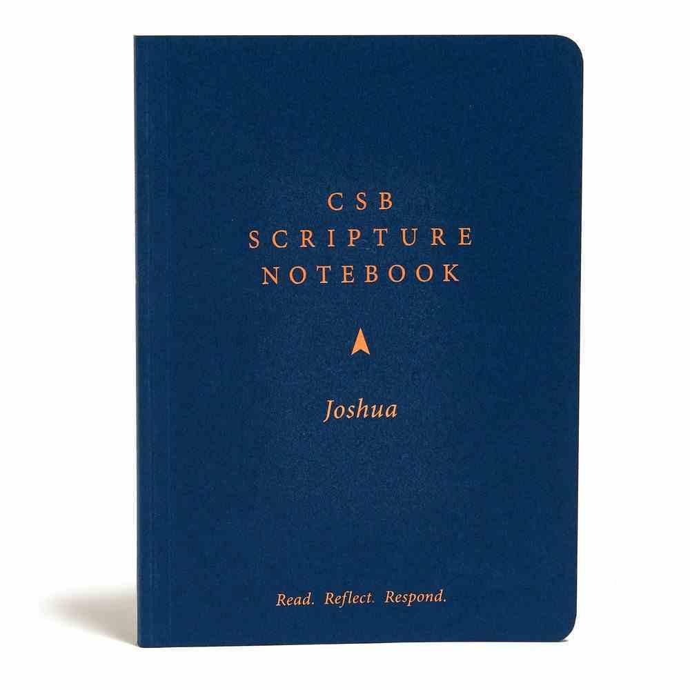 CSB Scripture Notebook Joshua Paperback