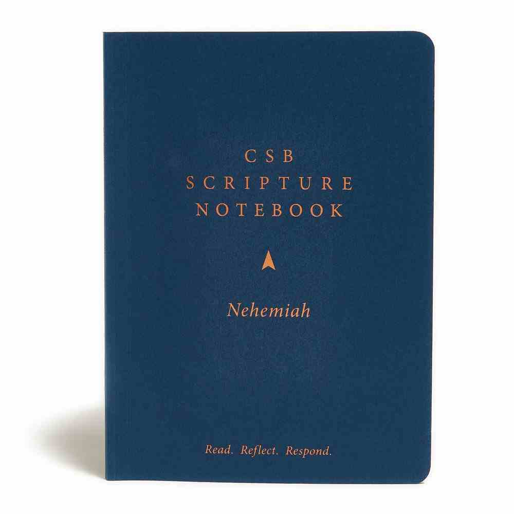 CSB Scripture Notebook Nehemiah Paperback