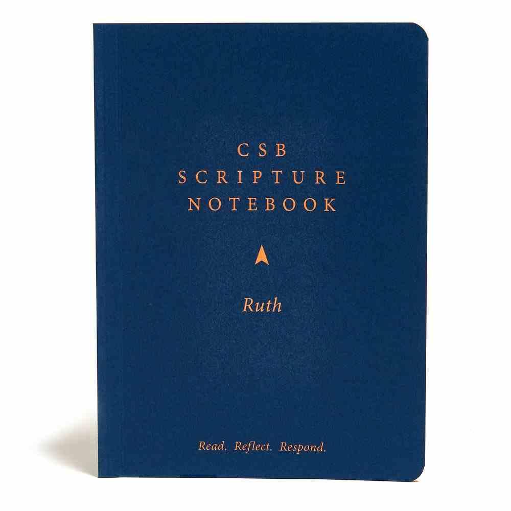 CSB Scripture Notebook Ruth Paperback
