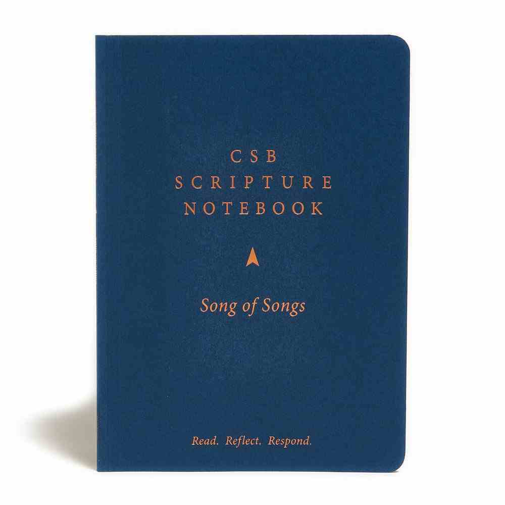 CSB Scripture Notebook Song of Songs Paperback